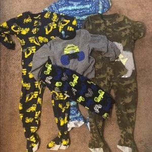 Lot of 5T fleece Pajamas